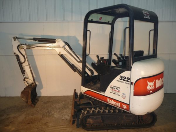 Maximum Dig Depth: 86.5 inch Minimum Width: 39″ Operating Weight: 3,526 lbs Bucket Digging Force: 3,408 lbf Travel Speed High: 1.8 mph Travel Speed Low: 0.9 mph Available Bucket Sizes: 12 & 20 inch Click here for Specifications