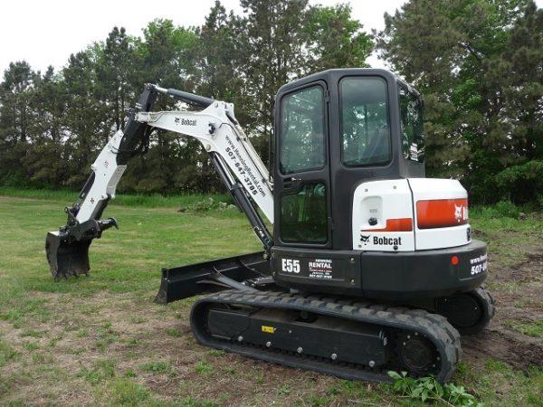 Bobcat E55 Excavator