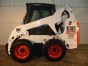 Bobcat S185 2 Speed Skidsteer Loader