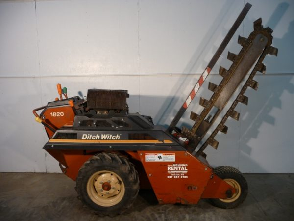 Ditch Witch 1820HE Trencher