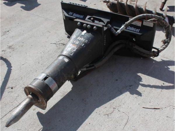 HB980 Breaker with Excavator Adapter Plate